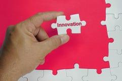 Κείμενο καινοτομίας - επιχειρησιακές έννοιες Στοκ εικόνα με δικαίωμα ελεύθερης χρήσης