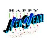 Κείμενο καλής χρονιάς στοκ φωτογραφίες με δικαίωμα ελεύθερης χρήσης