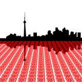 κείμενο Τορόντο οριζόντων ελεύθερη απεικόνιση δικαιώματος