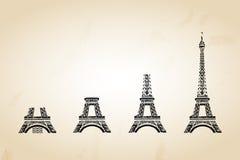 Κείμενο του Παρισιού Στοκ εικόνες με δικαίωμα ελεύθερης χρήσης