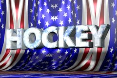 Κείμενο NHL με το κράνος Στοκ φωτογραφία με δικαίωμα ελεύθερης χρήσης