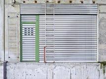 Κεκλιμένη ράμπα, πύλη, είσοδος, πόρτα, που ζαρώνουν Στοκ φωτογραφία με δικαίωμα ελεύθερης χρήσης