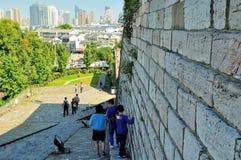 Κεκλιμένη ράμπα του Castle πυλών Zhonghua Στοκ Εικόνες