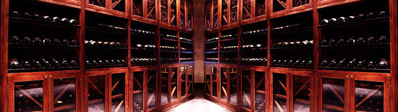 Κελάρι κρασιού στοκ φωτογραφίες με δικαίωμα ελεύθερης χρήσης