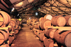 Κελάρι κρασιού Στοκ Φωτογραφίες