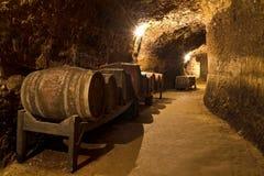 Κελάρι κρασιού Στοκ εικόνα με δικαίωμα ελεύθερης χρήσης