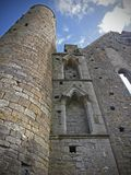 Κελτική αρχιτεκτονική του βράχου Cashel, Ιρλανδία στοκ εικόνα