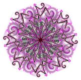 Κελτική διακόσμηση φαντασίας που γίνεται στο kaleidoscopic ύφος Στοκ Εικόνες