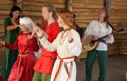κελτικοί χοροί Στοκ Εικόνες