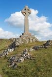 Κελτικός σταυρός, Anglesey, βόρεια Ουαλία, UK Στοκ εικόνα με δικαίωμα ελεύθερης χρήσης