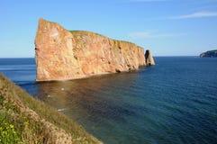 Κεμπέκ, βράχος Perce σε Gaspesie Στοκ φωτογραφία με δικαίωμα ελεύθερης χρήσης
