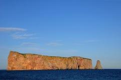Κεμπέκ, βράχος Perce σε Gaspesie Στοκ Εικόνα