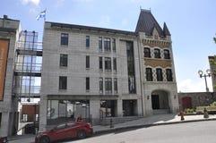Κεμπέκ, στις 28 Ιουνίου: Κτήρια σε ισχύ Royale μουσείων από την παλαιά πόλη του Κεμπέκ στον Καναδά Στοκ Φωτογραφίες