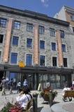 Κεμπέκ, στις 28 Ιουνίου: Κτήρια σε ισχύ Royale μουσείων από την παλαιά πόλη του Κεμπέκ στον Καναδά Στοκ φωτογραφία με δικαίωμα ελεύθερης χρήσης