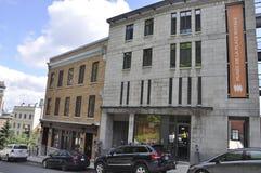 Κεμπέκ, στις 28 Ιουνίου: Κτήρια σε ισχύ Royale μουσείων από την παλαιά πόλη του Κεμπέκ στον Καναδά Στοκ εικόνες με δικαίωμα ελεύθερης χρήσης