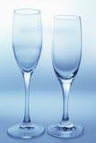 κενά γυαλιά Στοκ Εικόνες