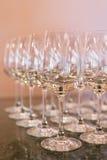 Κενά γυαλιά κρασιού. Στοκ φωτογραφία με δικαίωμα ελεύθερης χρήσης