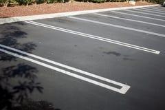 Κενά διαστήματα χώρων στάθμευσης στοκ φωτογραφία με δικαίωμα ελεύθερης χρήσης