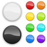 Κενά διακριτικά χρώματος Στοκ Εικόνες