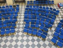 Κενά καθίσματα ακροατηρίων Στοκ εικόνα με δικαίωμα ελεύθερης χρήσης