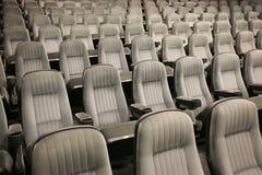 κενά καθίσματα σειρών Στοκ Φωτογραφίες