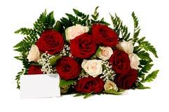 κενά λουλούδια καρτών Στοκ φωτογραφίες με δικαίωμα ελεύθερης χρήσης