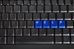 κενά μπλε πλήκτρα πληκτρολογίων οδηγιών υπολογιστών Στοκ εικόνες με δικαίωμα ελεύθερης χρήσης