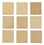 Κενά ξύλινα κομμάτια Στοκ Εικόνες