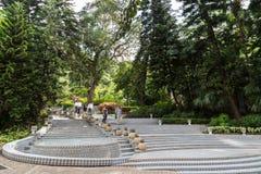 Κενά σκαλοπάτια στο πάρκο Χονγκ Κονγκ Στοκ φωτογραφία με δικαίωμα ελεύθερης χρήσης