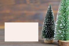 κενά Χριστούγεννα καρτών Στοκ εικόνα με δικαίωμα ελεύθερης χρήσης
