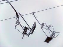 Κενά chairlifts στοκ φωτογραφίες με δικαίωμα ελεύθερης χρήσης