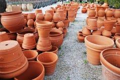 κενά flowerpots Στοκ φωτογραφίες με δικαίωμα ελεύθερης χρήσης