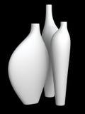 κενά vases Στοκ Εικόνα