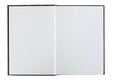 κενές ανοικτές σελίδες βιβλίων Στοκ φωτογραφίες με δικαίωμα ελεύθερης χρήσης