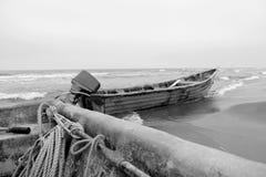 Κενές βάρκες Στοκ Εικόνα