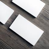 κενές επαγγελματικές κάρτες Στοκ εικόνα με δικαίωμα ελεύθερης χρήσης