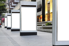 κενές πινακίδες Στοκ φωτογραφίες με δικαίωμα ελεύθερης χρήσης