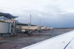 Κενές πύλες αερολιμένων στοκ φωτογραφία με δικαίωμα ελεύθερης χρήσης