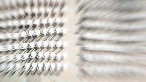 Κενή άποψη καρεκλών άνωθεν, έννοια ακροατηρίων Αφηρημένη επίδραση θαμπάδων κινήσεων Στοκ φωτογραφία με δικαίωμα ελεύθερης χρήσης