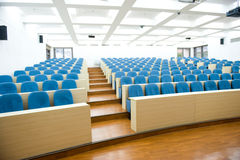 Κενή αίθουσα διάλεξης Στοκ φωτογραφία με δικαίωμα ελεύθερης χρήσης