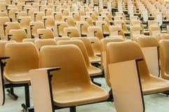 Κενή αίθουσα διάλεξης σπουδαστών Στοκ Φωτογραφίες