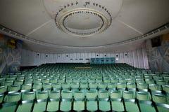 Κενή αίθουσα συνδιαλέξεων αιθουσών συνεδριάσεων, αίθουσα κινηματογράφων, WI αιθουσών συναυλιών Στοκ φωτογραφία με δικαίωμα ελεύθερης χρήσης