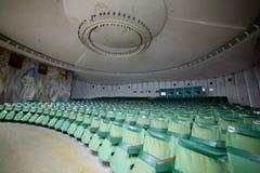 Κενή αίθουσα συνδιαλέξεων αιθουσών συνεδριάσεων, αίθουσα κινηματογράφων, WI αιθουσών συναυλιών Στοκ Εικόνα