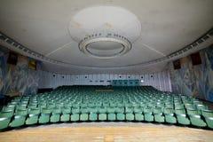 Κενή αίθουσα συνδιαλέξεων αιθουσών συνεδριάσεων, αίθουσα κινηματογράφων, WI αιθουσών συναυλιών Στοκ φωτογραφίες με δικαίωμα ελεύθερης χρήσης