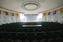 Κενή αίθουσα συνδιαλέξεων αιθουσών συνεδριάσεων, αίθουσα κινηματογράφων, WI αιθουσών συναυλιών Στοκ Φωτογραφίες