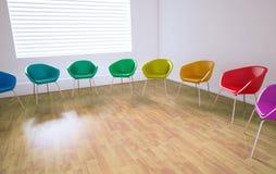 κενή αίθουσα συνεδριάσεων Στοκ Εικόνες
