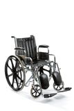 Κενή αναπηρική καρέκλα Στοκ εικόνες με δικαίωμα ελεύθερης χρήσης