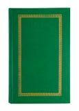 Κενή ανοικτή πράσινη κάλυψη βιβλίων Στοκ εικόνα με δικαίωμα ελεύθερης χρήσης