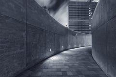 Κενή για τους πεζούς διάβαση πεζών Στοκ εικόνα με δικαίωμα ελεύθερης χρήσης