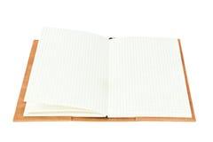 κενή γραμμή βιβλίων ανοικτή Στοκ Εικόνες